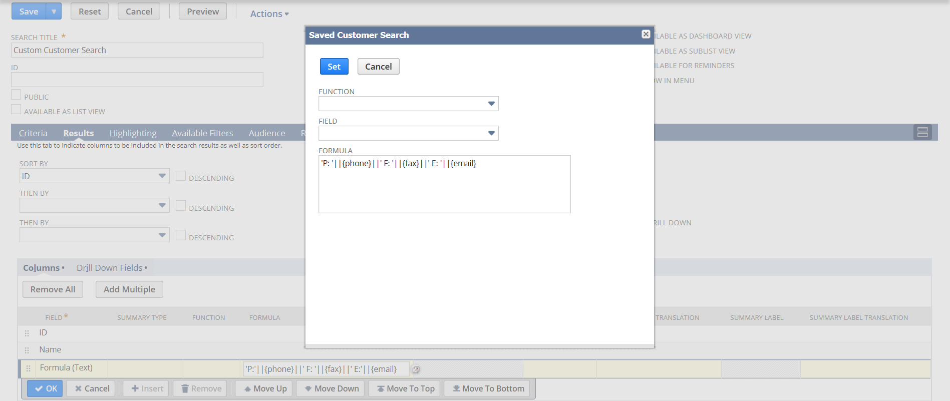 Include multiple field values in a single results column.png